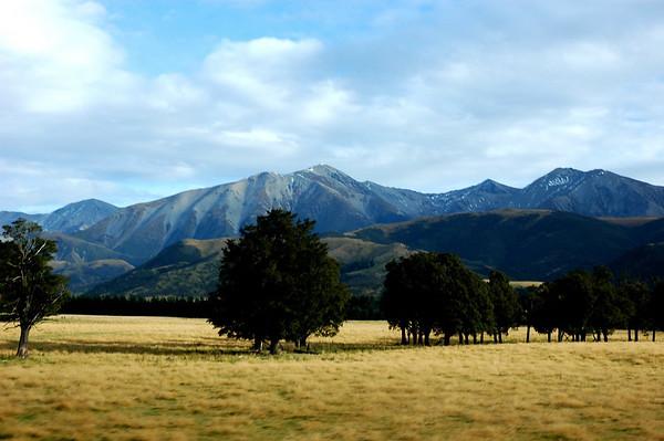 Train Ride to Arthur's Pass, New Zeland