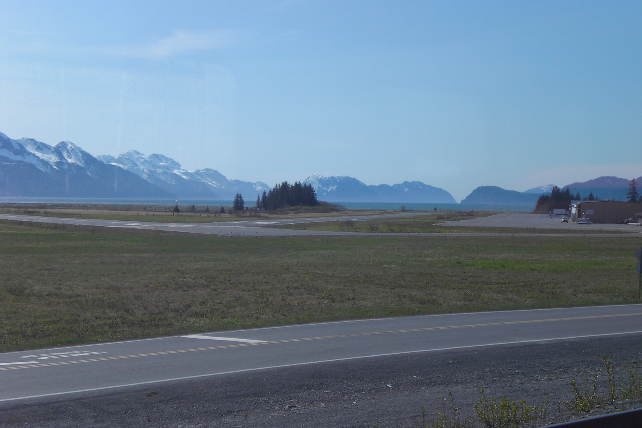 Seward is basically nothing. A small airstrip and enough room for one big ship.