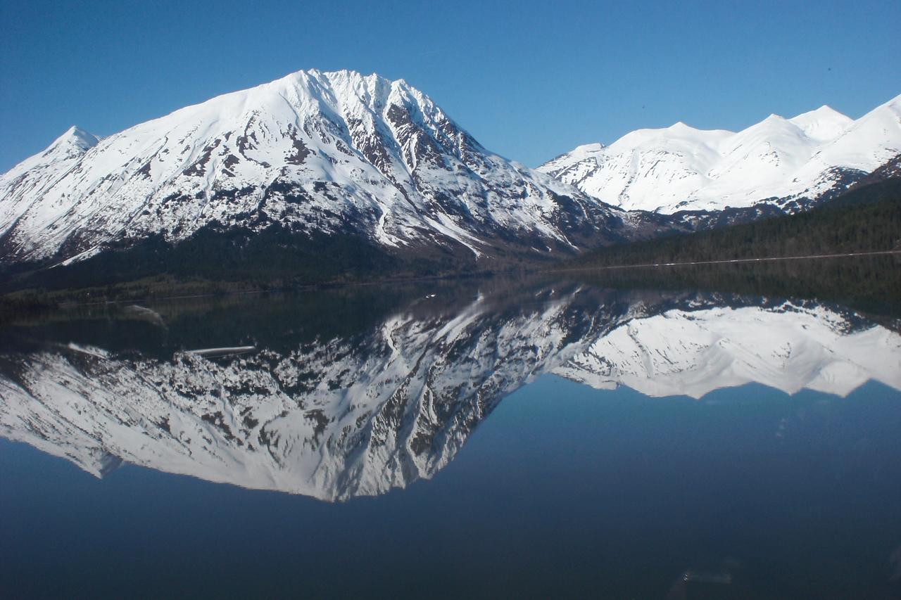 crazy mirror-lake effect. I just kept shooting.