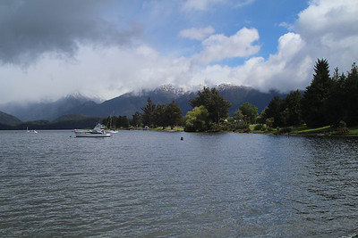 Glade Wharf on the way to Milford Track.