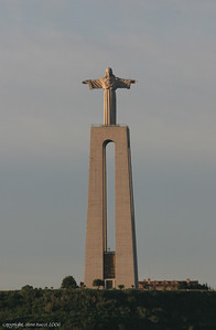 Statue of Cristo Rei in Lisbon, Portugal