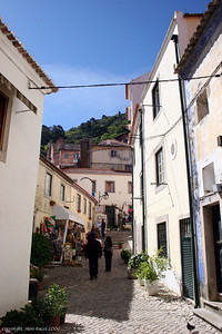 Along the streets of Sintra, Portugal