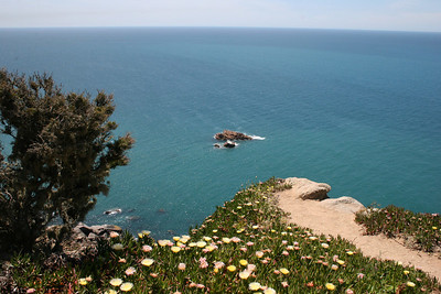 Looking into the Atlantic, Western-most point in Continental Europe (Sintra, Portugal)