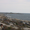 Peggy's cove in the distant