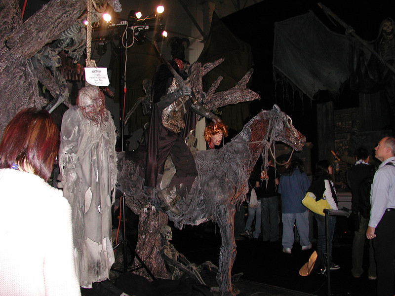 Headless horseman animatronic.