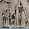 Basilica west side - Passion facade - Jesus presented with crown of thorns