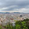 Overlooking Barcelona from Montjuïc