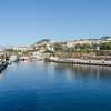 Exit from dock to Funchal….