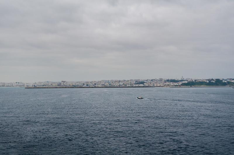 Approaching Tangier