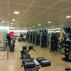 Sunday April 2 night - exercise room after hours for crew