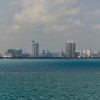 Sunday March 26 - Miami mid-Beach skyline