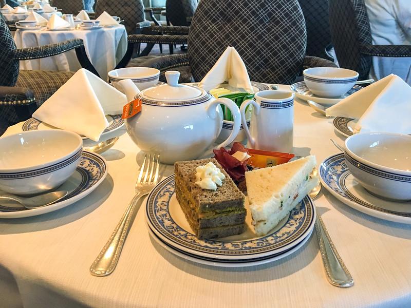 Thursday April 6 - Teatime in Horizons