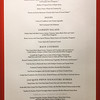 Sunday March 26 dinner menu - Dining Room