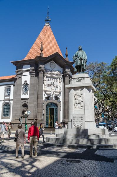 Portugese explorer, João Gonçalves Zarco