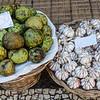 Funchal market - anona & garlic