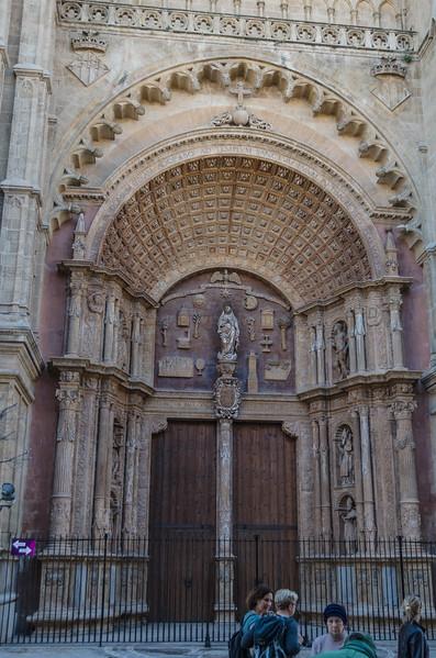 The Almudaina Façade