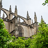 Seville Cathedral flying buttresses