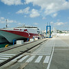Car ferry to Tarifa, Spain