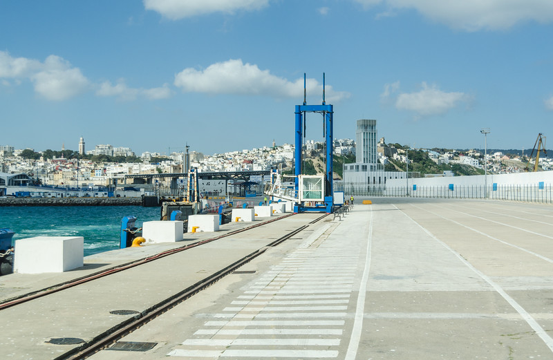 Dockside view of Tangier