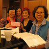 From left : Evangeline, May Kwong, Po Yee and Dr Chan.  Kwink and Shing Kwong not in the picture.