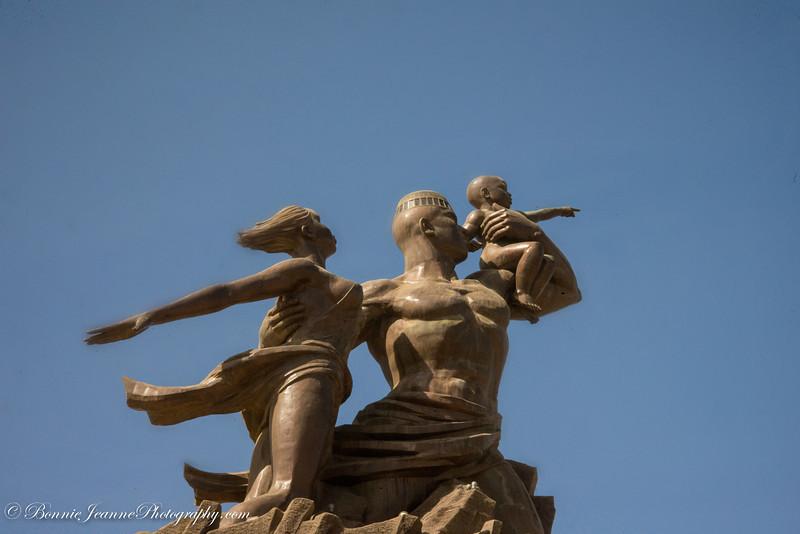 African Renaissance Monument.
