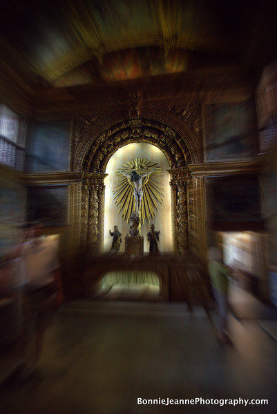 Golden Chapel that is part of the Convent and Church of Saint Anthony.