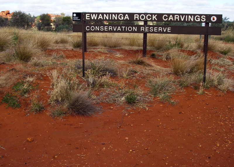 Ewinga Carvings, near Alice Springs