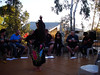 Tennant Creek. The ART Market. A tahitian dancer in the middle of the desert.