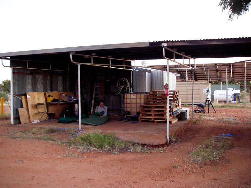 ANU Warramunga Seismic Station. Our bedroom.