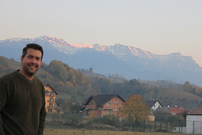 """Transylvania means """"beyond the forest"""" and was not what we expected.  The forest and countryside were gorgeous as were the Carpathian Mountains."""