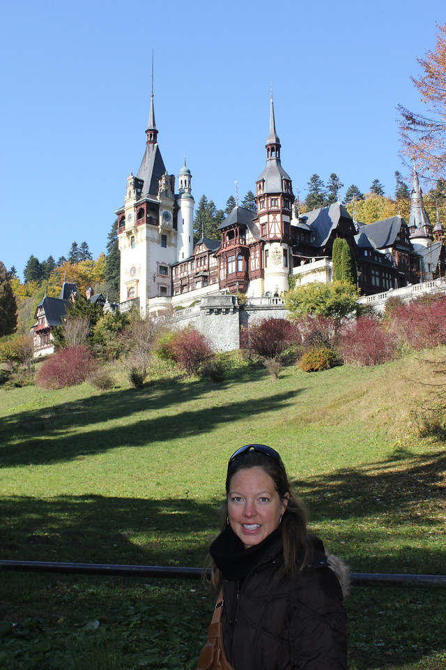 Our first stop in Transylvania was Sinaia and the very cool Peles Castle there.