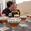 Orval's table beer - Only available at the cafe next to the monastery. Yum.