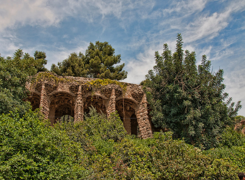 """<a href=""""http://www.barcelona-tourist-guide.com/en/gaudi/park-guell.html""""onclick=""""window.open(this.href,  null, 'height=537, width=780, toolbar=0, location=0, status=1, scrollbars=1, resizable=1'); return false"""">Park Guell</a>, Barcelona, Spain."""