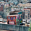"Graffiti,  <a href=""http://en.wikipedia.org/wiki/Barcelona""onclick=""window.open(this.href,  null, 'height=537, width=780, toolbar=0, location=0, status=1, scrollbars=1, resizable=1'); return false"">Barcelona</a> Spain."