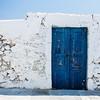 Door to nowhere, Santorini, Greece