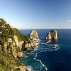 Faraglioni in Capri, Italy