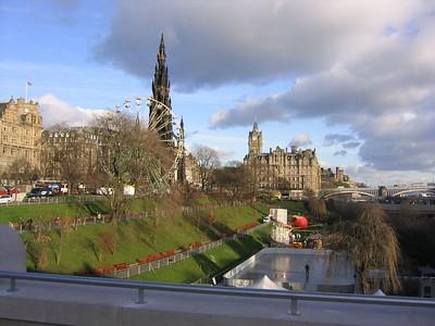 Edinburgh Scotland - November 2004