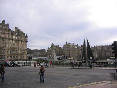 Edinburgh Scotland - November 2006