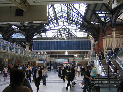 Liverpool St Bishopsgate London - June 2006