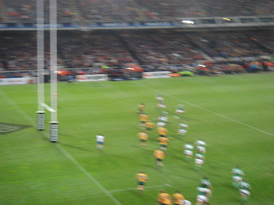 November 2006 - Dublin, Ireland (Wallabies v Ireland)
