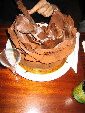 Paul's 30th Birthday - Hawksmoor Restaurant (Liverpool St London)