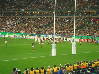 October 2007 - Paris, France (RWC Final)