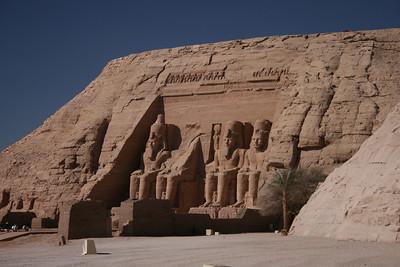 Abu Simbel Egypt - December 2007