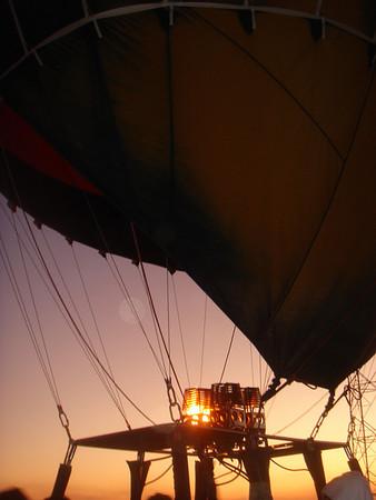 Luxor Egypt (hot air ballooning) - December 2007