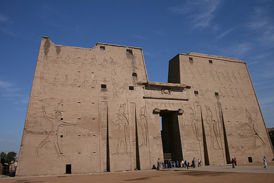 Temple of Horus (Edfu) - December 2007
