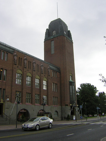 The town hall at Joensuu, by the architect who design the main railway station in Helsinki.