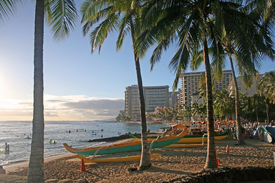 Waikiki Beach - Hawaii (October 2009)