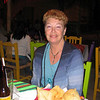 Lorna dines at Rocky's restaurant.
