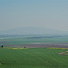 Valley of Megiddo, Jezreel Valley, where the last battle of all time will be held - very sobering thought.