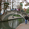 San Antonio Riverwalk, bridge over river